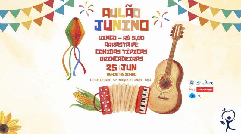 AULÃO JUNINO